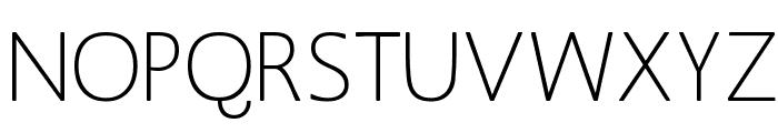 MankSans Font UPPERCASE