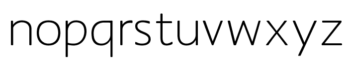 MankSans Font LOWERCASE