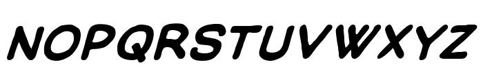 ManlyMen BB Bold Font LOWERCASE