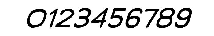 ManlyMen BB Italic Font OTHER CHARS