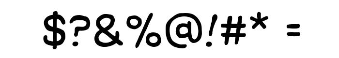 ManlyMen BB Font OTHER CHARS