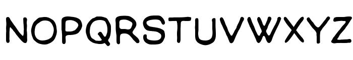 ManlyMen BB Font LOWERCASE
