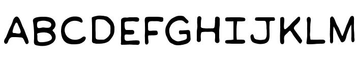 ManlyMenBB Font UPPERCASE