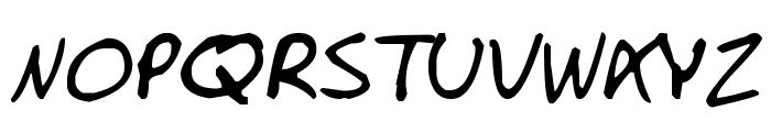 Manno Font UPPERCASE