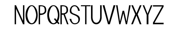Manta Font UPPERCASE