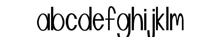 Manta Font LOWERCASE