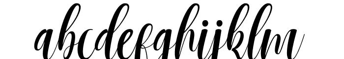 Mantana free Font LOWERCASE