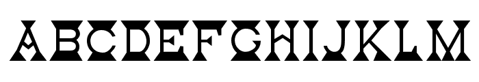 Mantel Font UPPERCASE