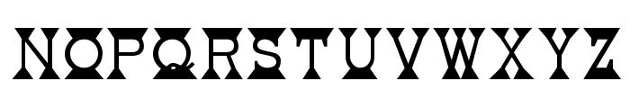 Mantel Font LOWERCASE