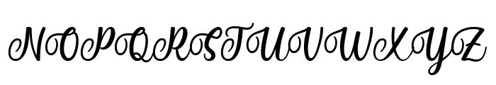 Mantul Font UPPERCASE