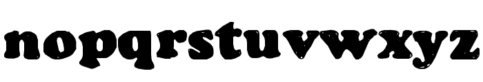 Manual Cookie Bucket Font LOWERCASE