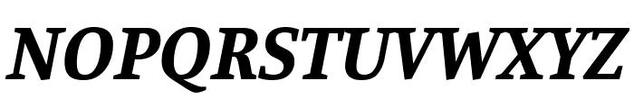 Manuale Bold Italic Font UPPERCASE