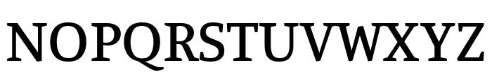 Manuale Medium Font UPPERCASE