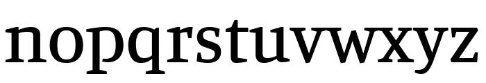 Manuale Medium Font LOWERCASE