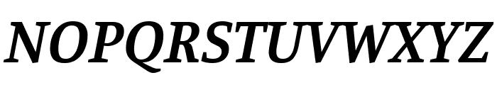 Manuale SemiBold Italic Font UPPERCASE