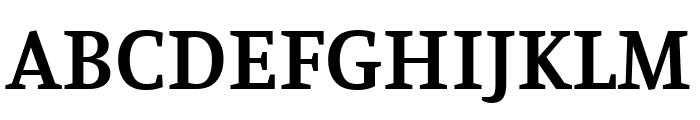 Manuale SemiBold Font UPPERCASE