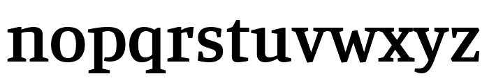 Manuale SemiBold Font LOWERCASE