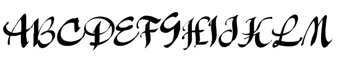 Manualito-Flo Font UPPERCASE