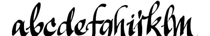 Manualito-Flo Font LOWERCASE