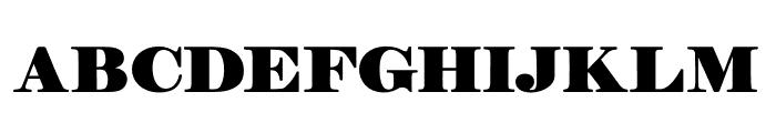 Manuell Regular Font UPPERCASE