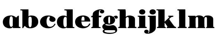 Manuell Regular Font LOWERCASE