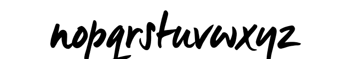 Manus Smooth_TRIAL Font LOWERCASE