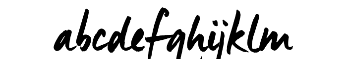 ManusTrial Font LOWERCASE