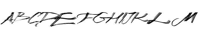 Manuscripta Font UPPERCASE