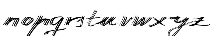 Manuscripta Font LOWERCASE