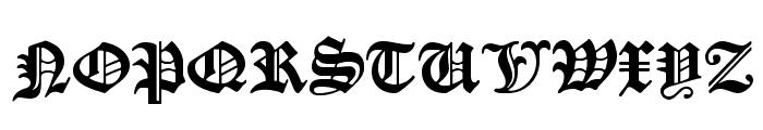 ManuskriptGotisch Font UPPERCASE
