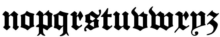 ManuskriptGotisch Font LOWERCASE