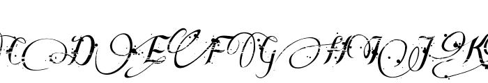Many Weatz Font UPPERCASE