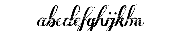 Many Weatz Font LOWERCASE