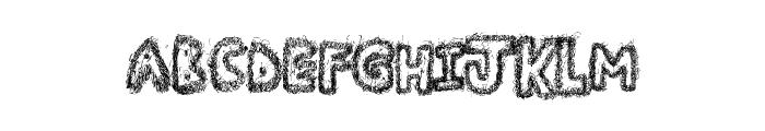ManyFun Font UPPERCASE
