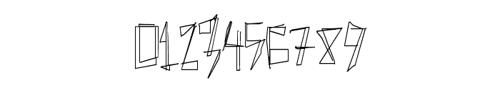 ManyLines Font OTHER CHARS