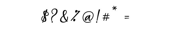 MaqellaScript Font OTHER CHARS