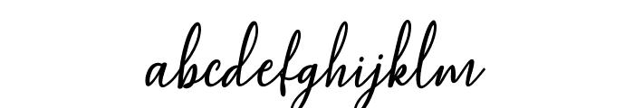 MaqellaScript Font LOWERCASE