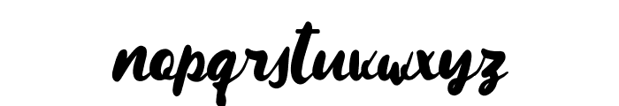 Maqueen Font LOWERCASE