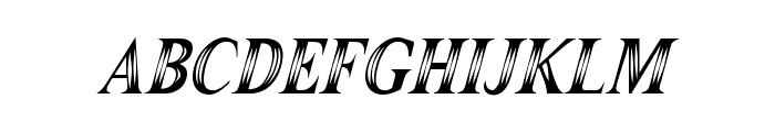 Maranallo High Italic Font LOWERCASE