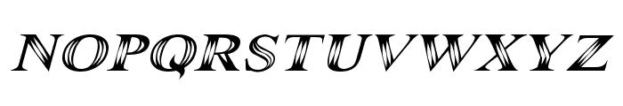 Maranallo Italic Font UPPERCASE