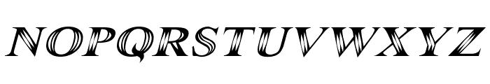 Maranallo Italic Font LOWERCASE