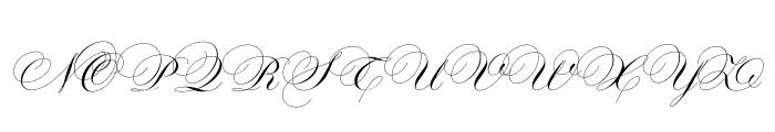 Maratre Font UPPERCASE