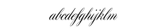 Maratre Font LOWERCASE