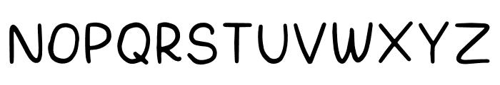 Marbelous Font UPPERCASE