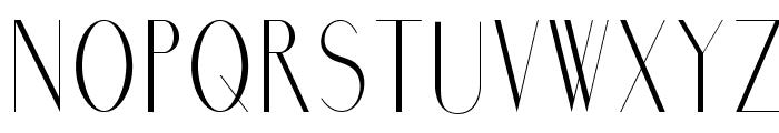 Marbre Sans Font UPPERCASE