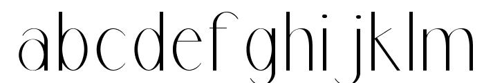 Marbre Sans Font LOWERCASE