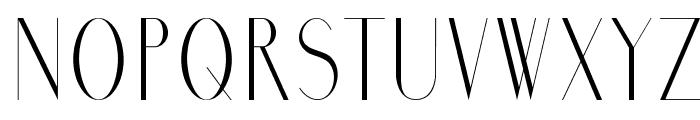 Marbre Font UPPERCASE