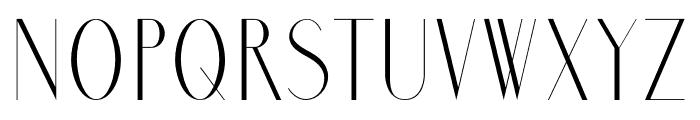 MarbreSans Font UPPERCASE