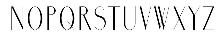 Marbre Font LOWERCASE