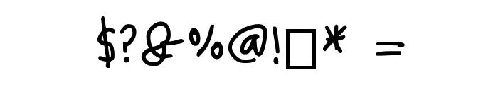 Marc Medium Font OTHER CHARS